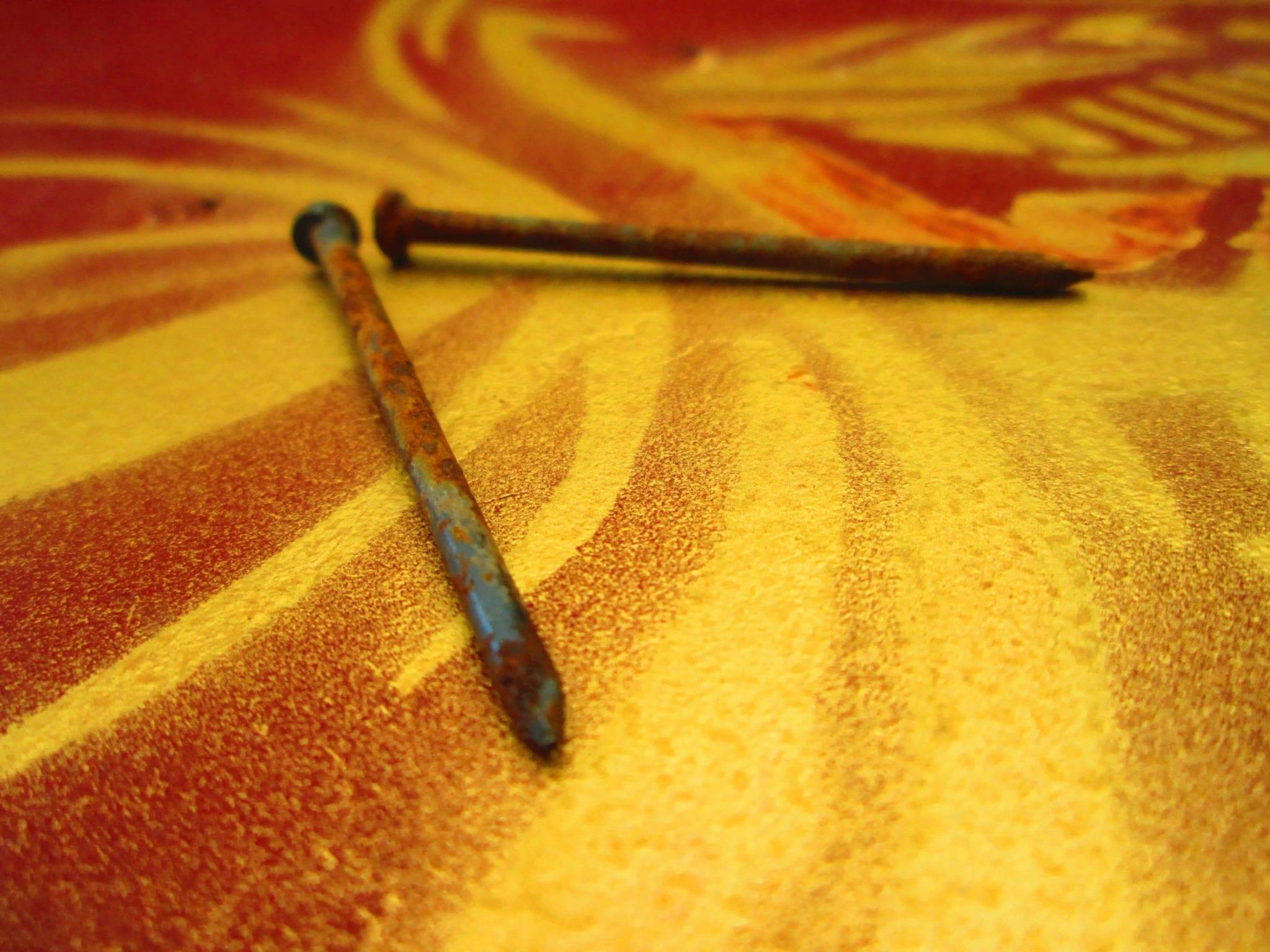 Enlever la rouille de vos outils ou de vos clous do it for Enlever rouille sur outils