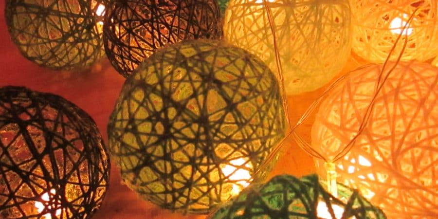 Atelier DIY Lille - guirlande lumineuse détail