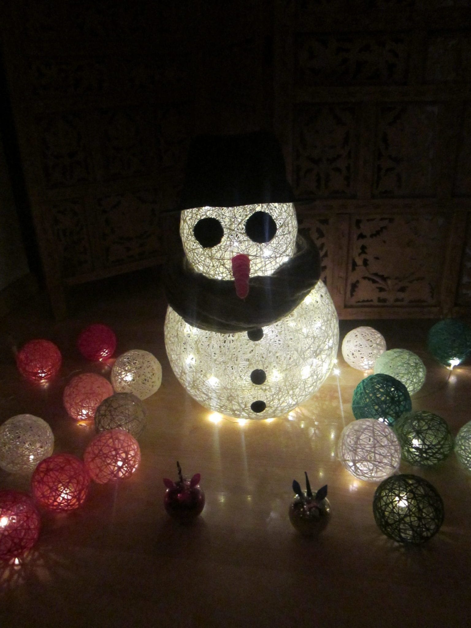 Bonhomme de neige - ambiance 2