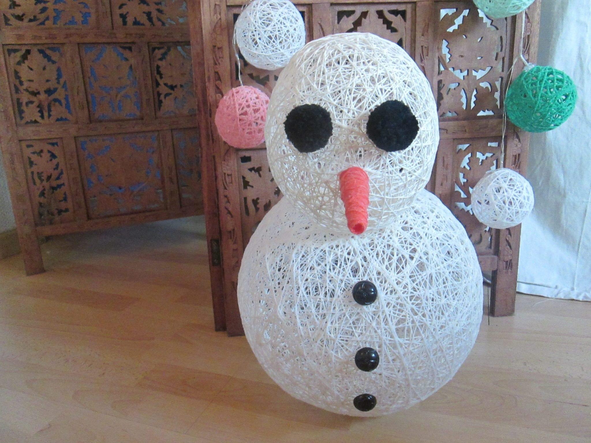 Bonhomme de neige - assemblage2