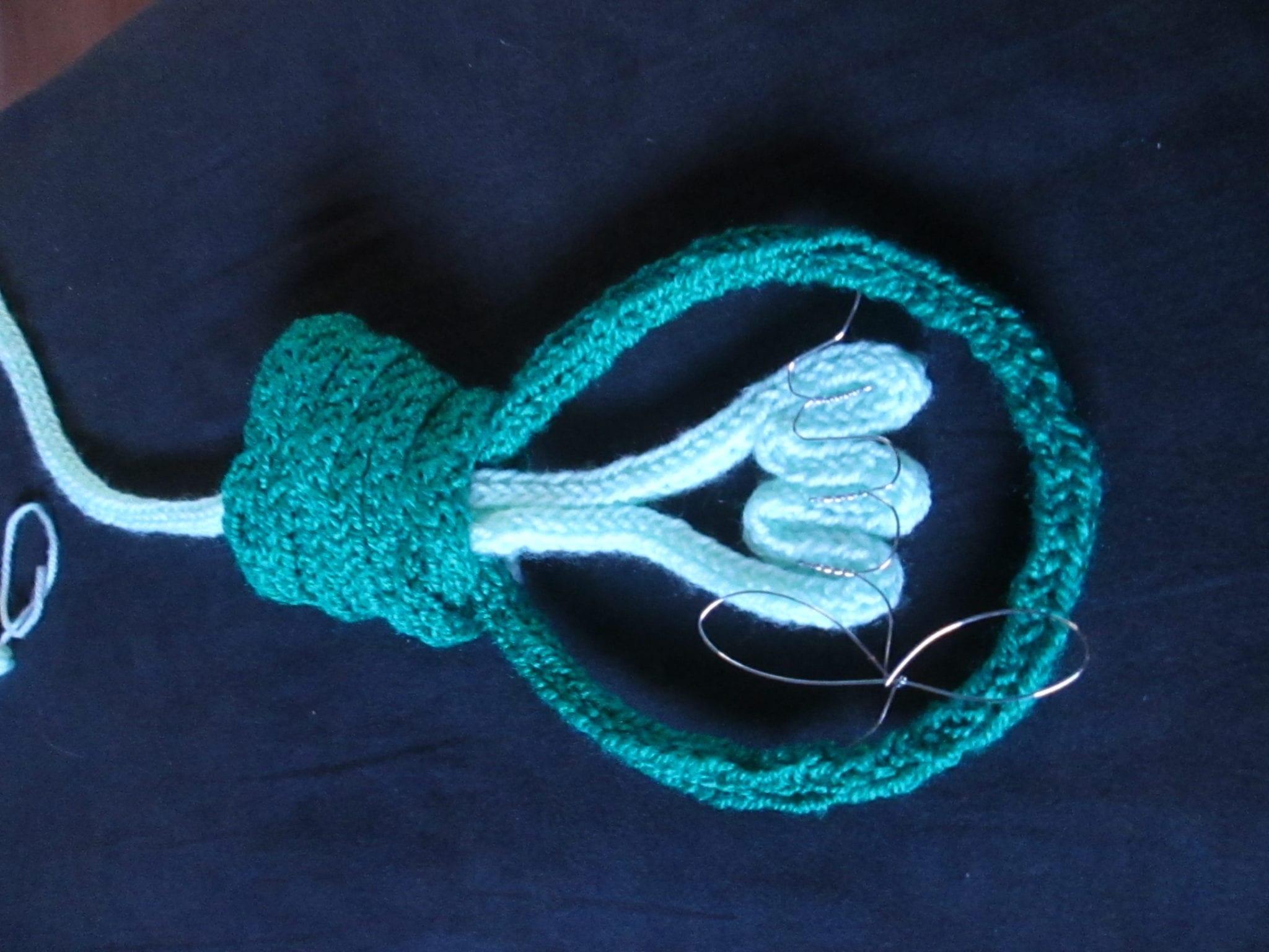 ampoule tricotin - final détail