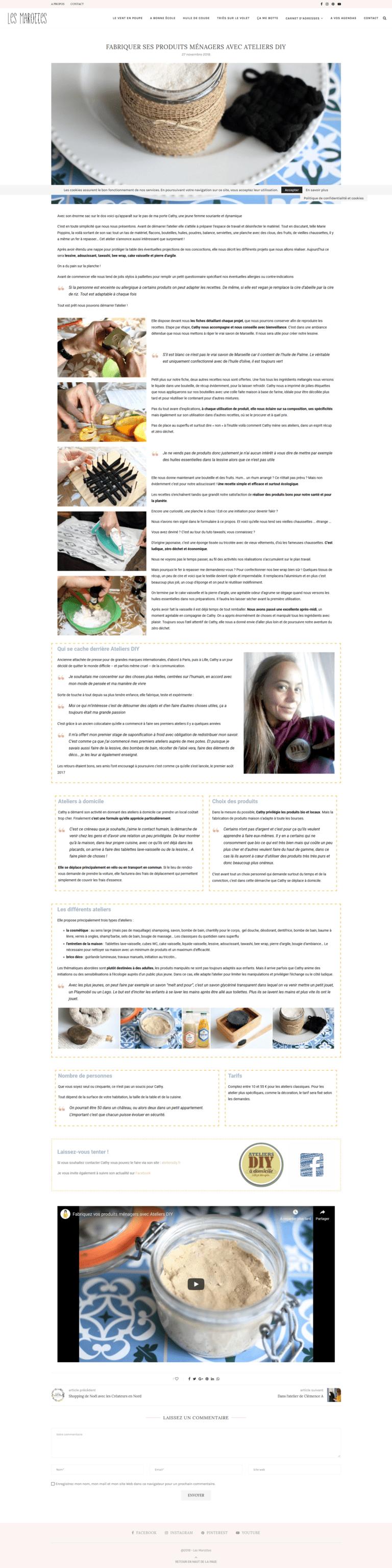 Article Les marottes Retrouvez l'article complet sur http://lesmarottes.fr/atelier/fabriquer-produits-menagers-ateliers-diy/?fbclid=IwAR1LJFI6A5TP-LL5E8IPQx0wp2GK37o8ZqqB5M9FWKUIa68fbcguvCTwUOk
