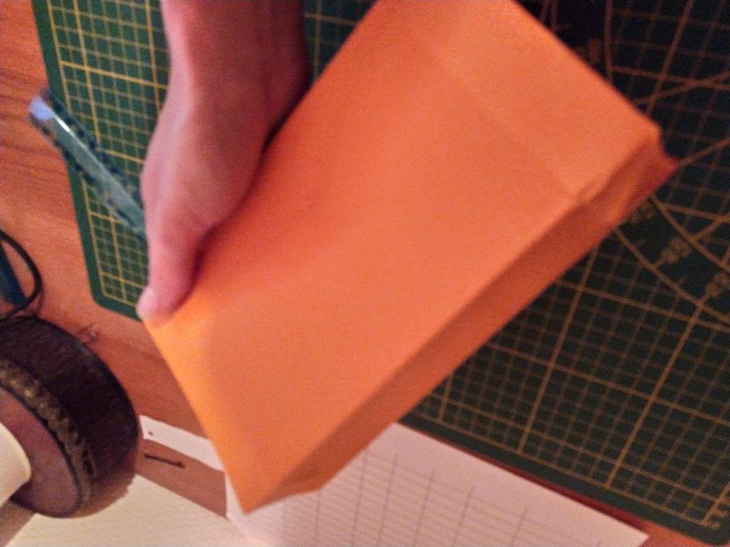 diy sac papier