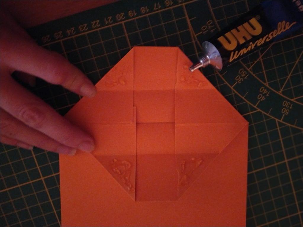 faire un sac cadeau en papier