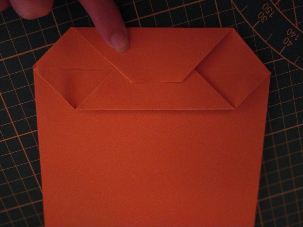 tutoriel sac cadeau en papier